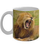 I Need My Coffee - Lion Mug (11oz) - Raven's World - 1