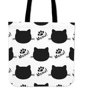 Meow! Cat Cloth Tote Bag
