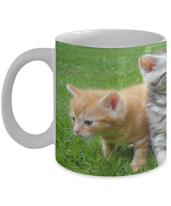 Kitten Gang Mug (white) (11 oz) - Raven's World - 1