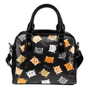 Cat Purr Shoulder HandBag
