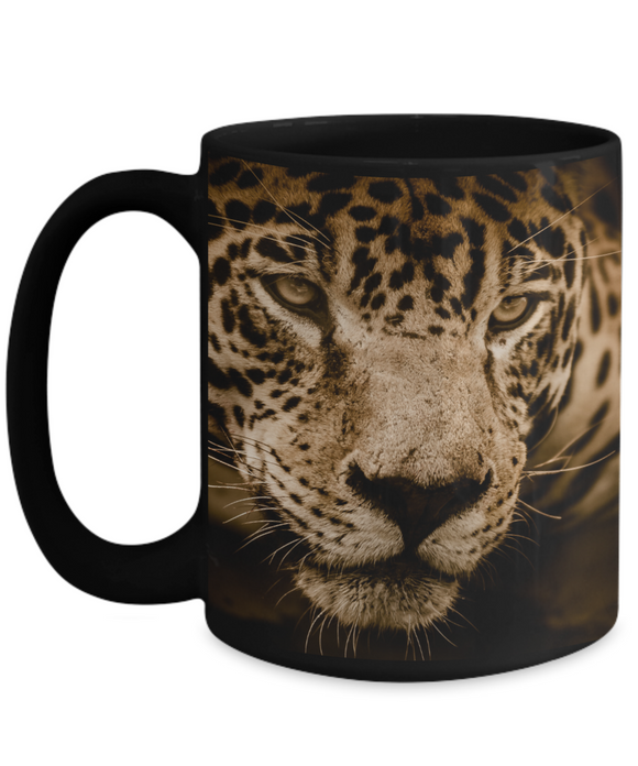 Jaguar Wrap Mug 11 or 15 oz
