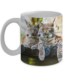 I Heart Lynx - 11 or 15 oz Mugs
