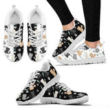 Cute Cat Womens Sneakers