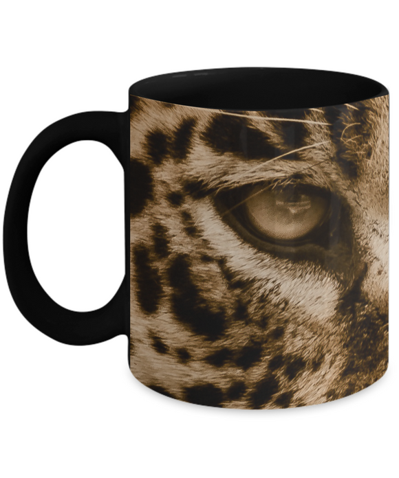 Jaguar Eyes Mug 11 or 15 oz