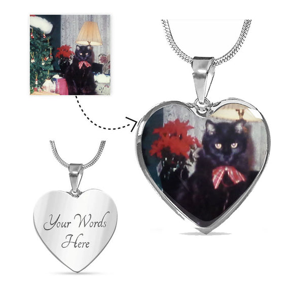 Engravable Photo Pendant - Fantastic Keepsake of your Loved Pet!