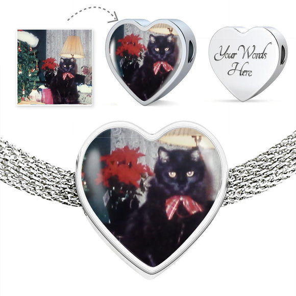 Make a Charm featuring your Favorite Cat! Great Gift for any Cat Lover!