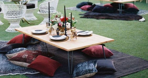 HOW TO THROW A CHIC SPRINGTIME GARDEN PARTY
