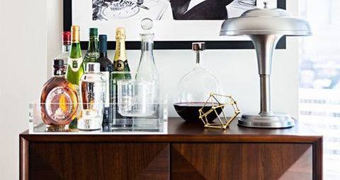 YOUR MOST STYLISH HELPER FOR CHRISTMAS PARTIES: COCKTAIL CABINETS