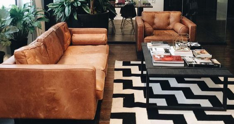 HOW TO CHOOSE THE PERFECT LEATHER SOFA