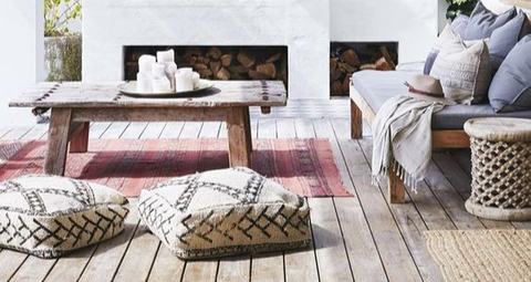 Ottomans are the Outdoor Staple You Need this Summer