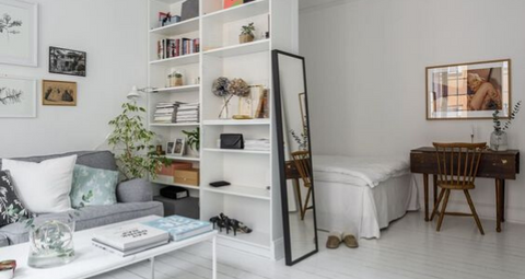 6 Big Ideas for Small Spaces - How to Decorate a Small Apartment
