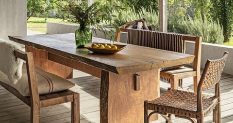 Alfresco Dining - 5 Fresh and Unique Outdoor Table Ideas