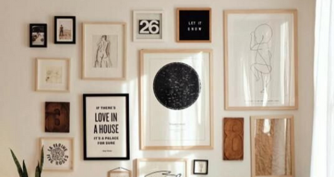 For The Love of Wall Art: An in-depth guide to decorating your walls.