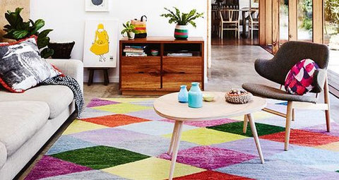 BE INSPIRED TO… INFUSE YOUR INTERIORS WITH COLOURFUL RUGS