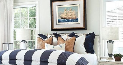 HOW TO: CREATE A CLASIC HAMPTONS STYLE BEDROOM