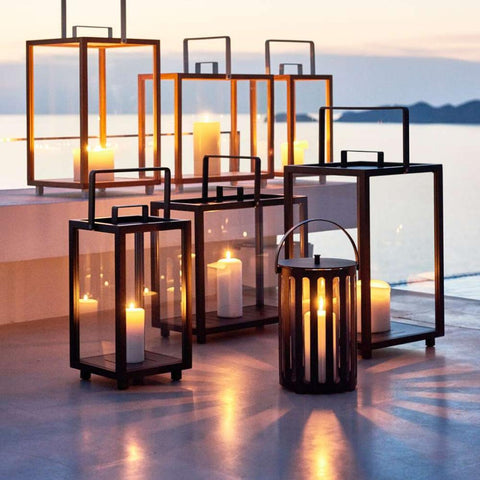 Hurricane Lamps and Candelabras