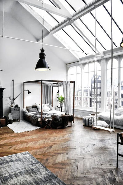 new york loft style how to decorate interiors online. Black Bedroom Furniture Sets. Home Design Ideas