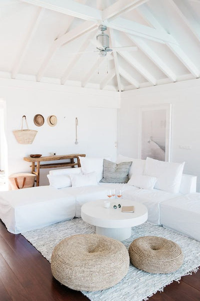 The True Hamptons Style Is All About Minimalist Colours, White Walls And  Floors With Accent Colours Of Navy Or Duck Egg Blue. We Are Fortunate In  Australia ...