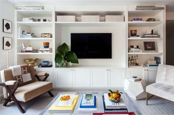 built in TV entertainment unit