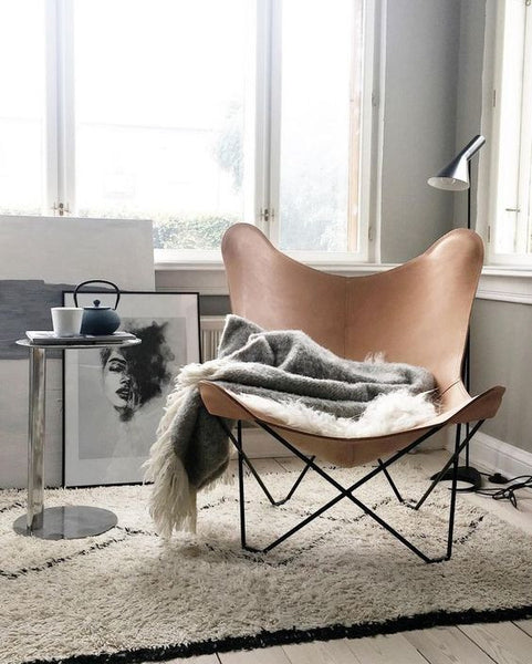 A Brand New Range Of Leather Butterfly Chairs   An Online Exclusive.