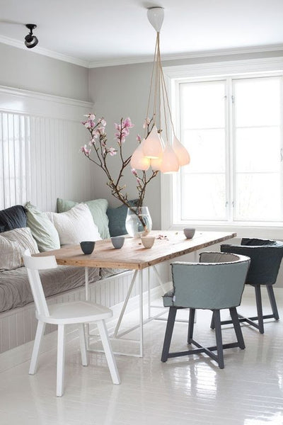 One Of The Most Striking Lighting Trends Is Clustering, Which Works Well  Over A Dining Table. Choose An Odd Number Of Pendants (three Is A Good  Place To ...