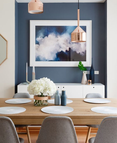 How To Style Your Dining Table When It S Not Being Eaten At