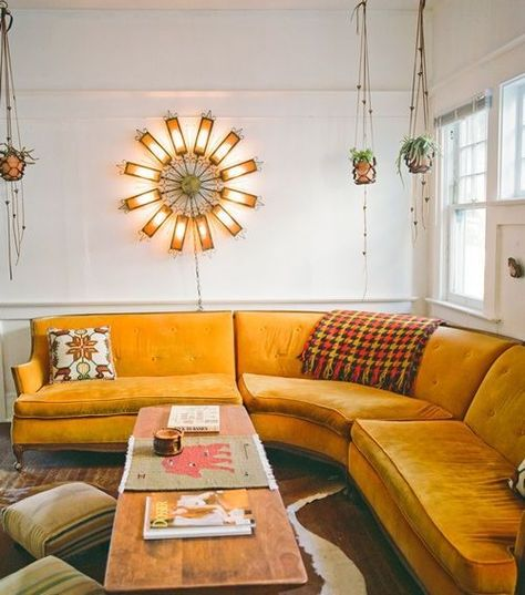 Yeah Baby Seventies Inspired Interiors Are Back