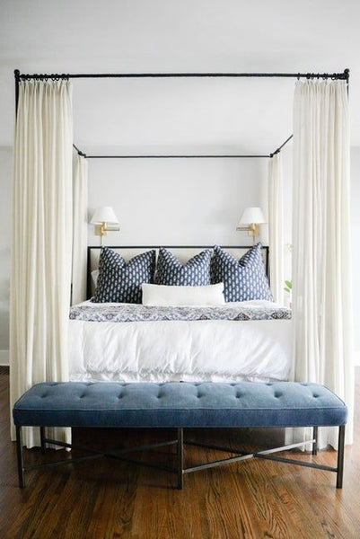 How to create a hamptons bedroom interiors online - How to design a small bedroom ...