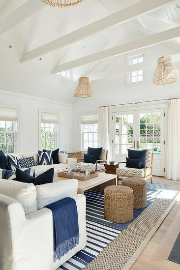 HEAVEN IS A HAMPTONS STYLE LIVING ROOM | INTERIORS ONLINE