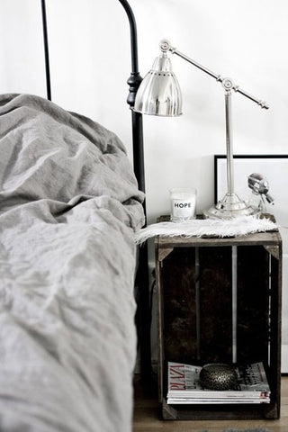 Balanced bedside tables - Interiors Online