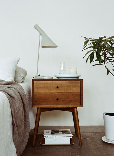 1. Let there be light & 15 Best Bedside Table Ideas | Bedside Table Décor \u0026 Design ...