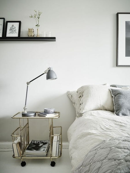 Bedside table on wheels - Interiors Online