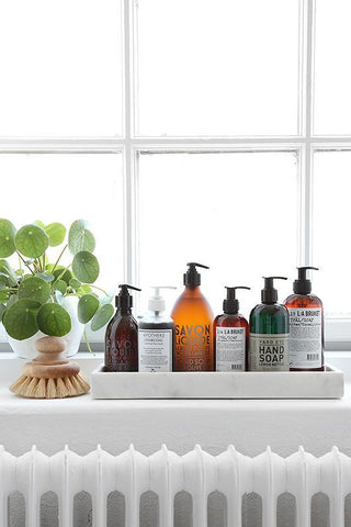 styled bathroom products