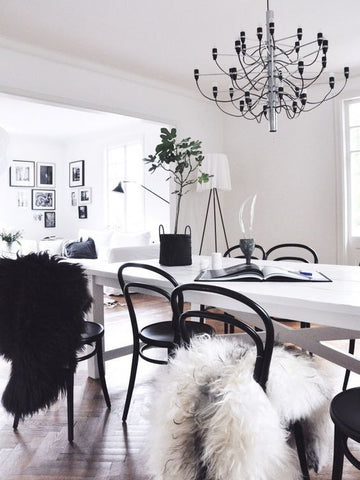 styled dining room