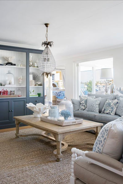Heaven Is A Hamptons Style Living Room Interiors Online