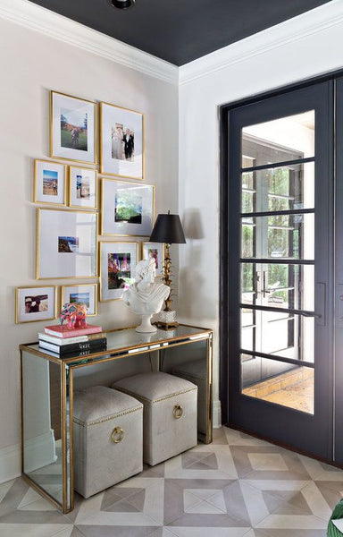 5 HALLWAY STYLING IDEAS: FROM THE RIGHT ENTRANCE TABLE TO GLAMOROUS ...