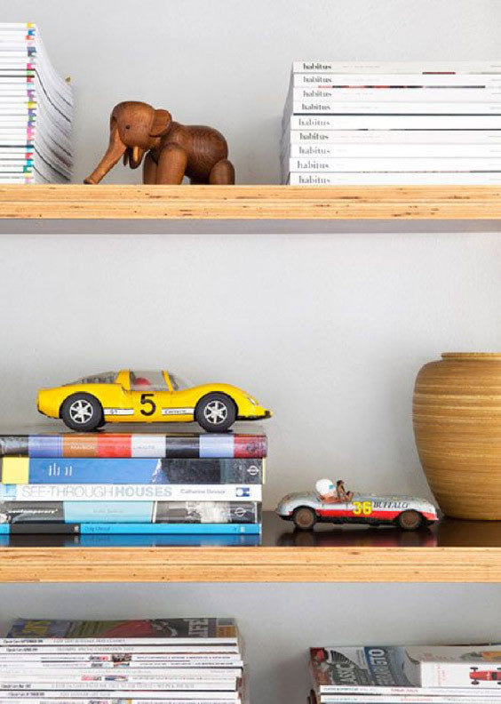 Toys and kid shelf