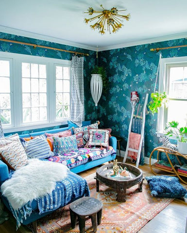 Style crush justina blakeney interiors online for Raumgestaltung vintage