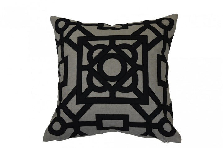 Beatrice Cushion Black