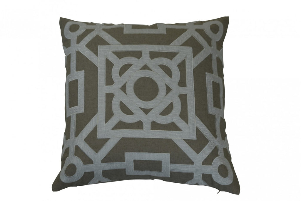 Beatrice Cushion Ivory
