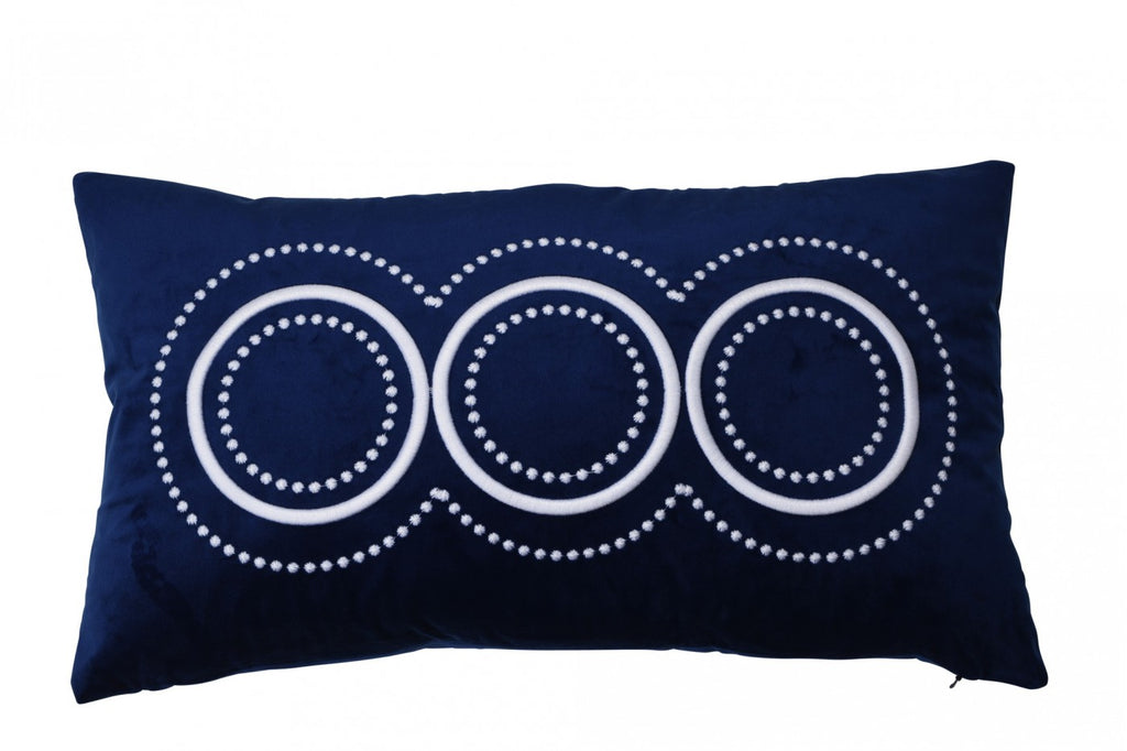 Long Island Navy Cushion