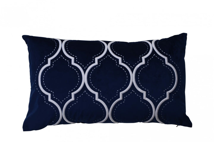Santa Monica Navy Cushion