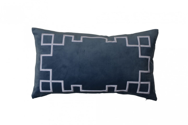Palm Springs Ocean Cushion Rectangular