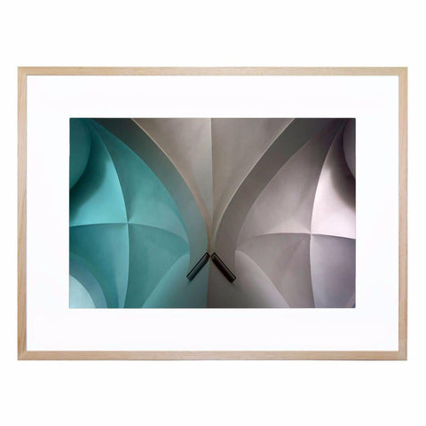 Arch II Giclee Print with Frame