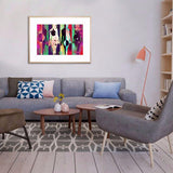 Body Language Acrylic Print with Frame