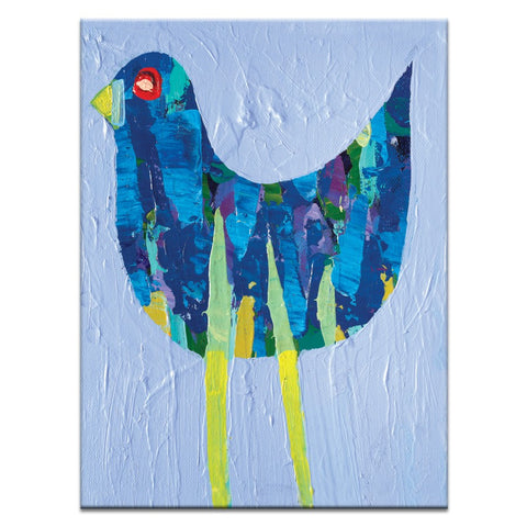 Mauve Bird Canvas Print