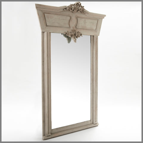 Nelson Mirror in Grey Wash
