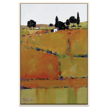Hideaway Framed Canvas Print