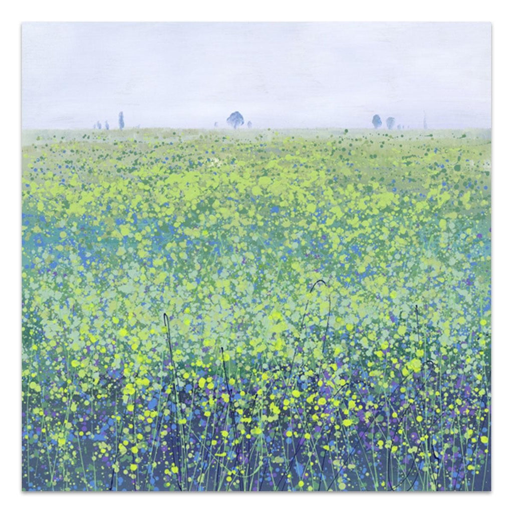 Dusky Fields Canvas
