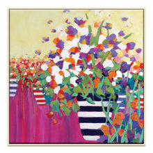 Florist Haven Framed Canvas Print